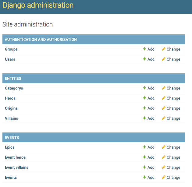 1  How to change 'Django administration' text? — Django