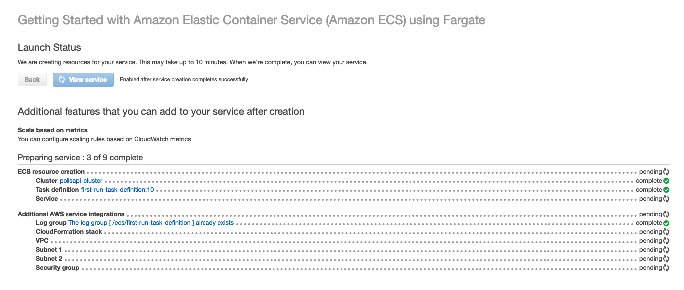 Deploy in AWS Fargate — Django Deployments Cookbook documentation